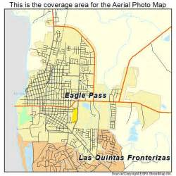 aerial photography map of eagle pass tx
