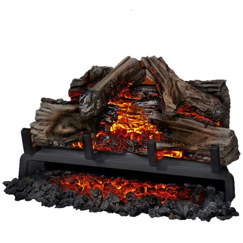 napoleon woodland 24 inch electric fireplace insert log