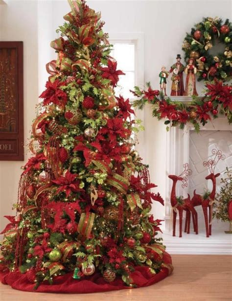 themes christmas 2014 christmas tree decorations 2014 red and gold 2015 2016