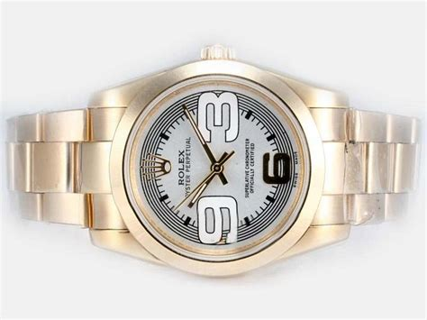 new replica rolex c 102 cheap rolex air king two tone with beige new version