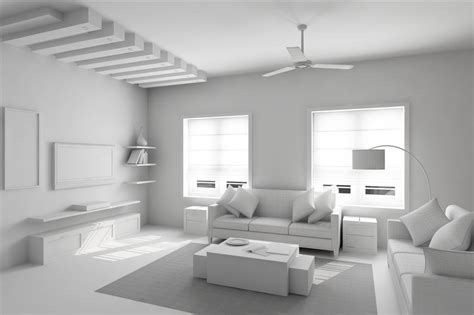 Living Room Model 2 realistic living room model rendered in vray by barunpatro