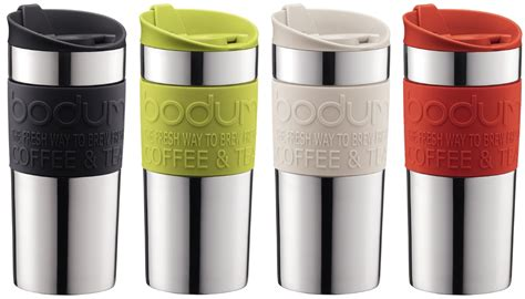 stainless steel french press travel mug