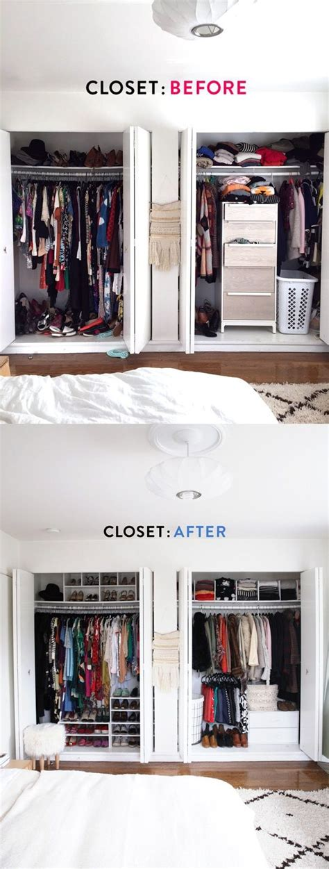 How Much Closet Space Do I Need by 17 Best Ideas About Small Closet Makeovers On