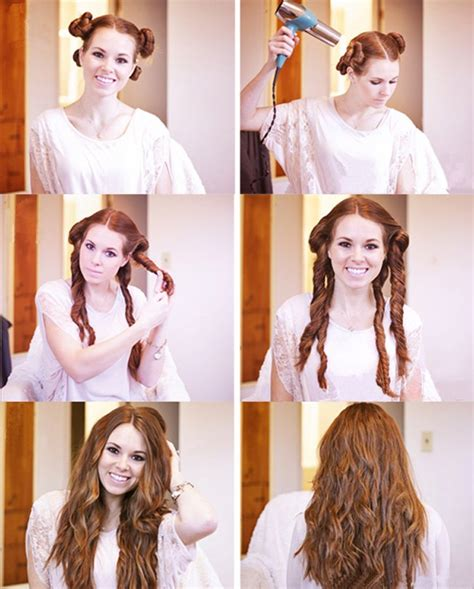 and easy 5 diy hairstyles for lazy mornings