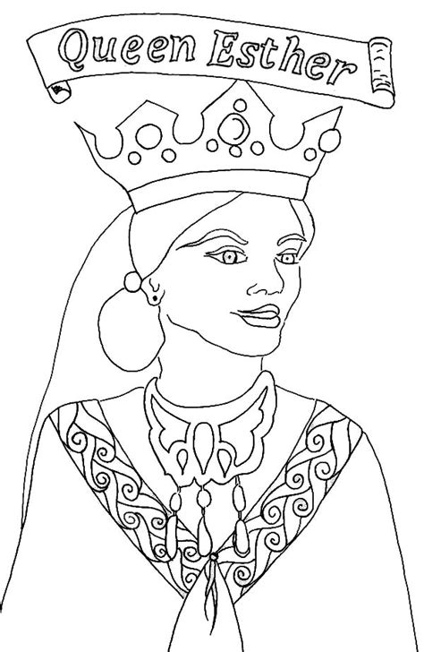 printable coloring pages of queen esther queen esther picture of queen esther coloring page