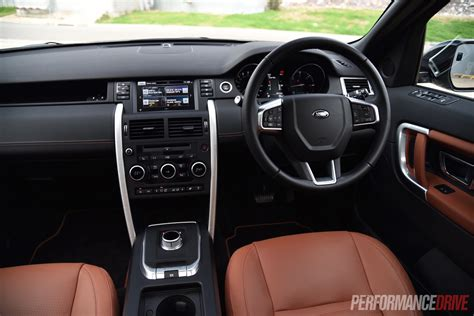2015 range rover dashboard land rover discovery sport sd4 hse luxury review video