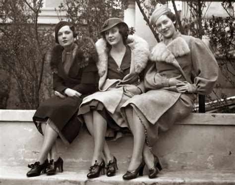 modelsin their thirties fashion models styles from the 1930 s vintage everyday