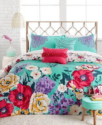 macy s dorm bedding helena 5 piece comforter and duvet set bed in a bag