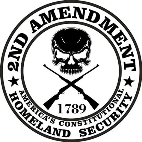 2nd Amendment Stickers 2 pack 2nd amendment america s constitutional homeland