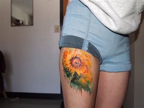 35 staggering sunflower tattoo designs creativefan 75 vibrant and inspirational sunflower tattoos