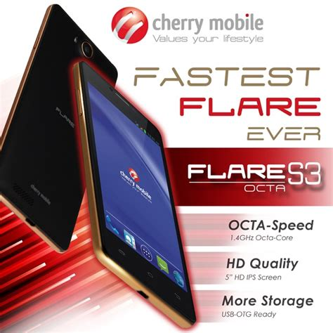 mobile octa cherry mobile flare s3 octa 5 inch octa android
