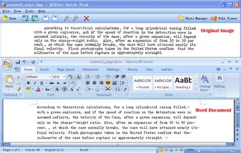 Convert Picture To Editable Word Document
