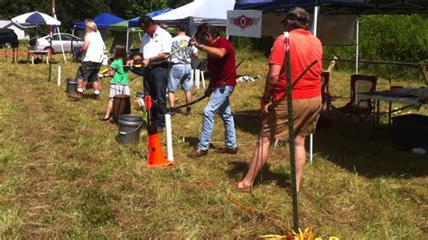 traditional archery shops laporte archery bow trap demo at the 8 10 12 traditional