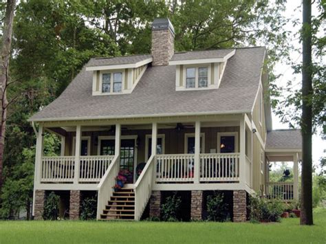 acadian cottage house plans raised house plans elevated house plans flood prone