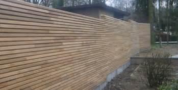 la cl 244 ture de jardin en bois
