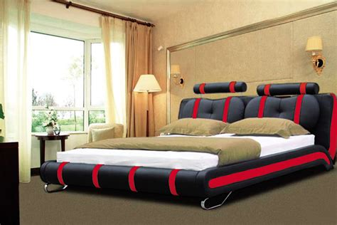 double king size bed luxury designer bed double 101 black white furniture appliance centre birmingham