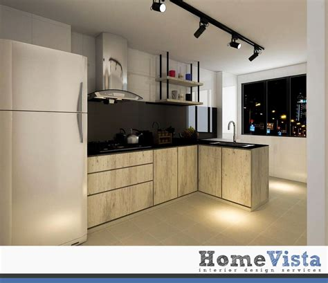 room hdb bto punggol bto homevista kitchen design