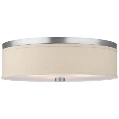 philips embarcadero 3 light satin nickel ceiling fixture