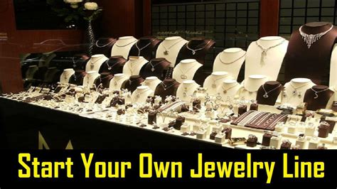 how to make your own jewelry line how to start your own jewelry line business