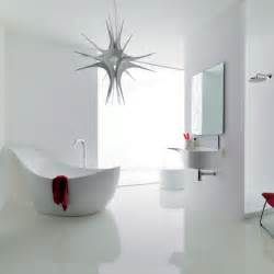 And Bathroom Designs by Modern White Bathroom Design