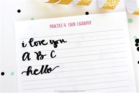 hand lettering tutorial worksheet 3 free hand lettering worksheets for beginners printable