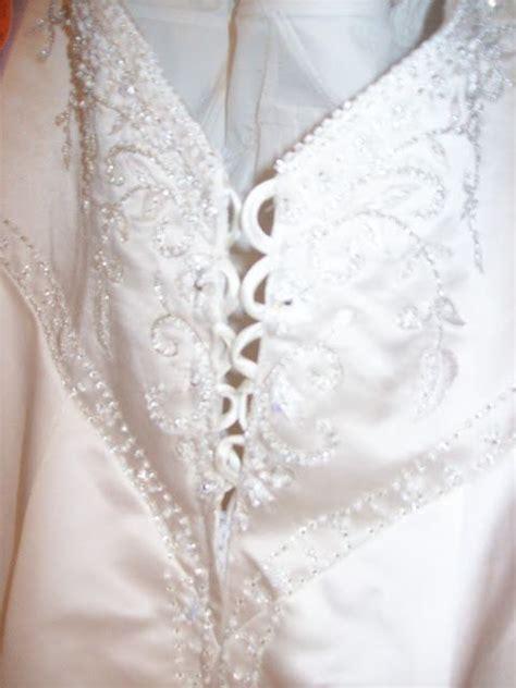 Wedding Dress Zipper To Corset by Changing From Zipper To Corset Back Dress Sewing