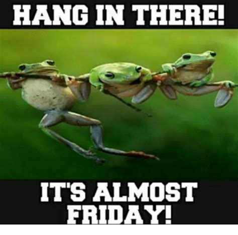 Friday Hanging Up by 25 Best Memes About Its Almost Friday Its Almost