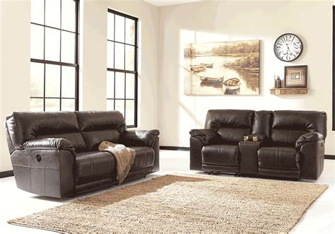 overstock living room sets barrettsville durablend 174 power reclining sofa set