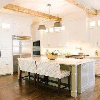 bench for kitchen island 1000 ideas about island bench on kitchens