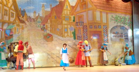 beauty and the beast village walt disney world caroline and elly s magical moments