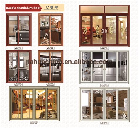 lowes glass interior swing doors style aluminum alloy