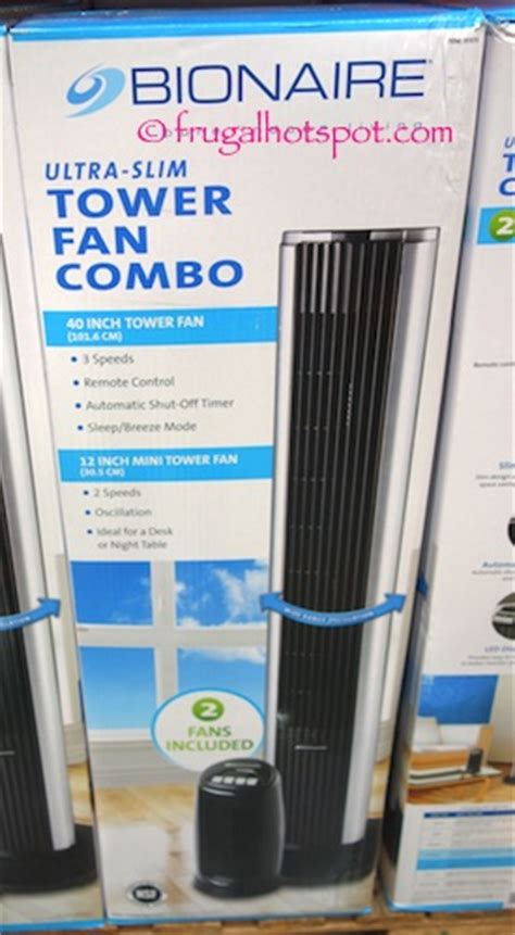bionaire tower fan costco costco bionaire tower fan personal mini fan 49 99