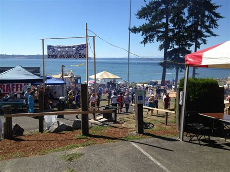 the 2014 salmon bake at browns point tacoma living in