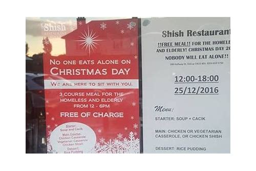 christmas meal deals london