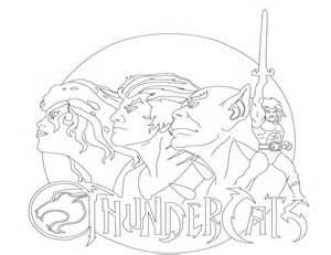 coloring thunder cats 2011 pages sketch template - Thunder Cats Coloring Book Pages