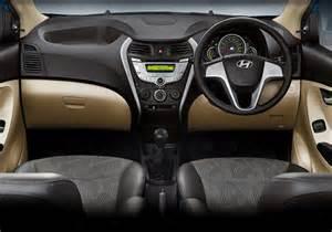 Hyundai Eon Interior Hyundai Eon 1 0 Litre Engine To Take On Maruti Suzuki