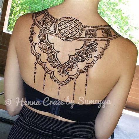 henna tattoo designs upper back best 25 henna back tattoos ideas on henna