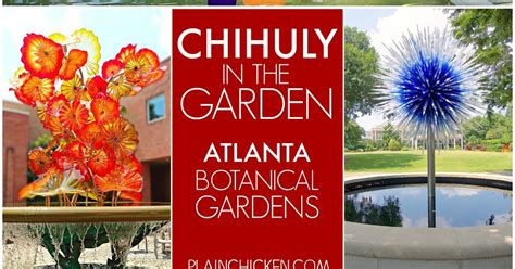Botanical Gardens Tickets Chihuly In The Garden Atlanta Botanical Gardens Plain Chicken