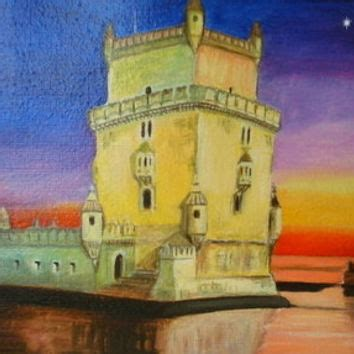 the castle on sunset original from dawanda my
