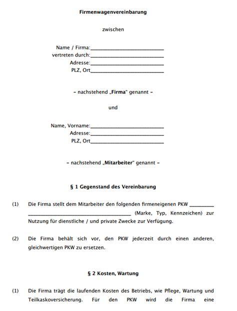 Schreiben Gehaltserhöhung Muster Arbeitgeber Firmenwagen Vereinbarung Vorlage Zum