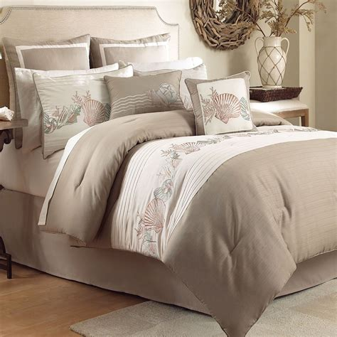 comfort bedding seashore coastal comforter bedding from chapel hill by