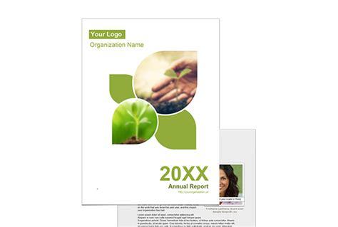 nonprofit annual report template free template annual report images exle resume ideas