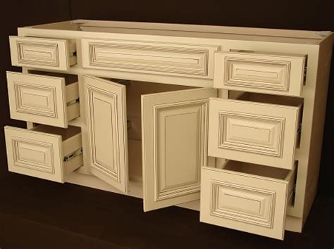 heritage white rta bathroom cabinets vanity unit v6021dd