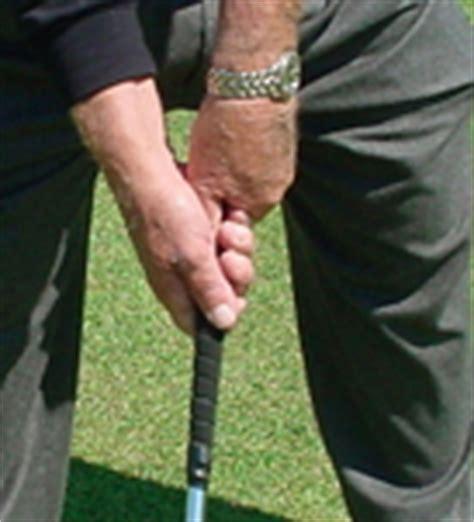 baseball grip golf swing moe norman golf moe s grip