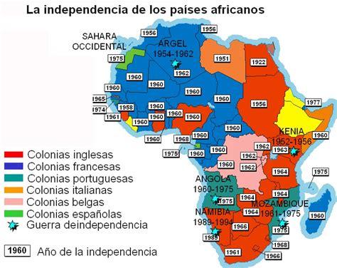atlas histrico de la la gaceta latinoamericana la descolonizaci 243 n de 193 frica tomado del atlas hist 243 rico mundial