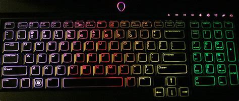 Murah M Tech Keyboard Gaming Rainbow Led M 01 now all the alienware m17x s keyboard needs is a unicorn