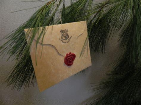 Handmade Hogwarts Acceptance Letter 75 best images about harry potter decorations on