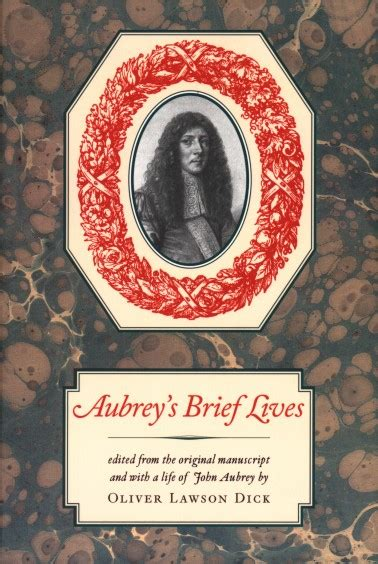aubreys brief lives the 0140430792 aubrey s brief lives david r godine publisher