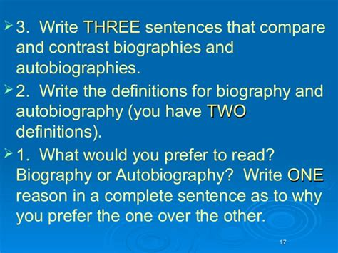 biography and autobiography year 3 autobiographyandbiography