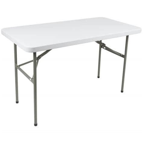 24 granite white plastic folding table lancaster table seating 24 quot x 48 quot heavy duty white